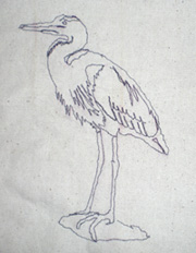 A Cross Heron